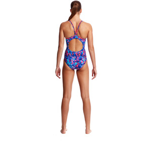 Funkita Diamond Back One Piece Traje de Baño Mujer, rusted